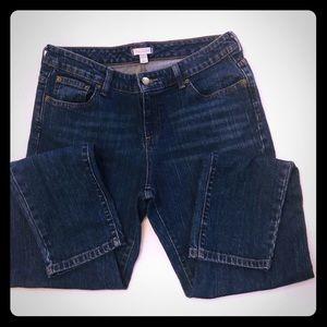 Garnet Hill Straight Leg Jeans